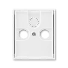 Kryt zásuvky anténní TV/R/SAT Element bílá