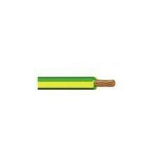 Vodič H07V-K (CYA), 10 mm2, zelenožlutá