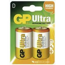 Baterie alkalická GP ULTRA LR20(D) (2 ks/bal)