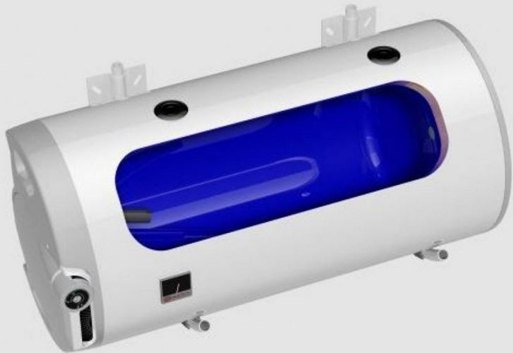 Kombinovaný ohřívač vody Dražice OKCV 160, vodorovný, levý