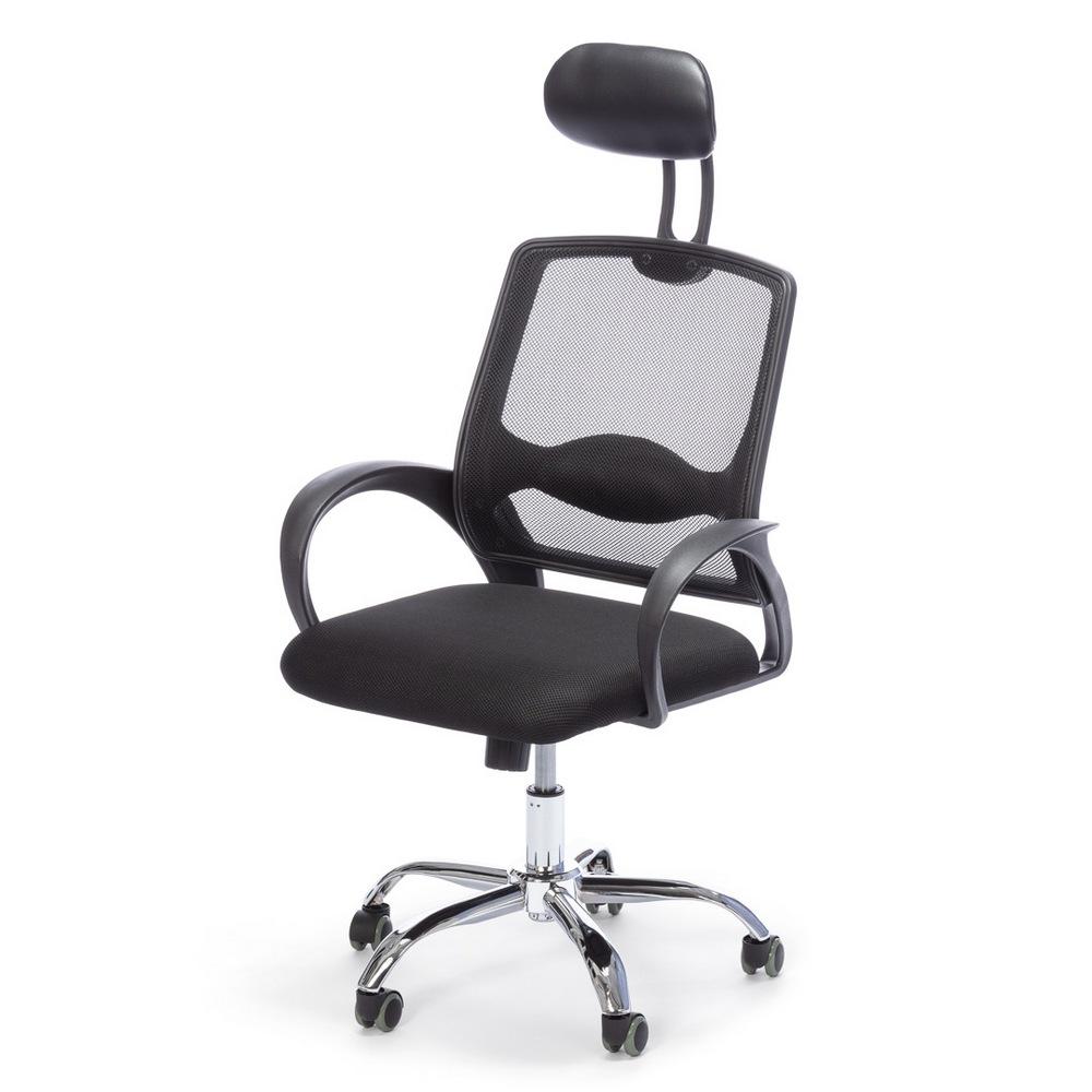 Kancelářská židle JADEN černá, cena za ks