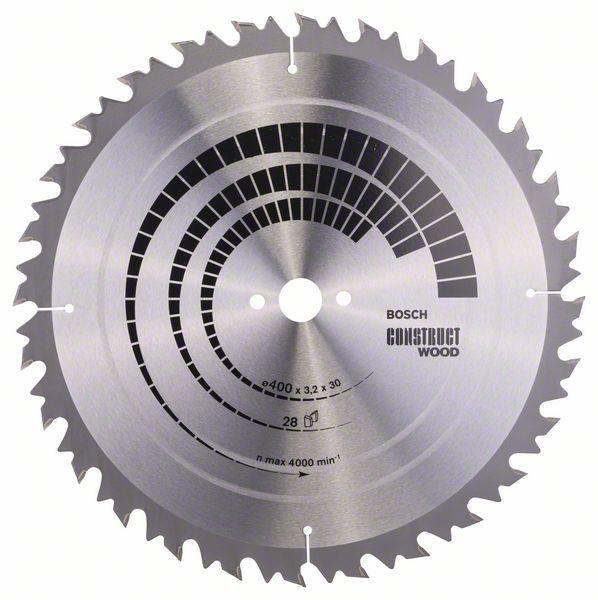 Kotouč pilový Bosch Construct Wood 400×30×2,2 mm 28 z.