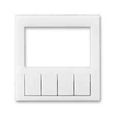 Díl výměnný pro kryt termostatu a spínacích hodin Levit bílá