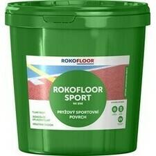 Povrch sportovní Rokofloor Sport zelený, 12 kg/bal.