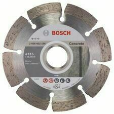 Kotouč řezný DIA Bosch Standard for Concrete 115×22,23×1,6×10 mm
