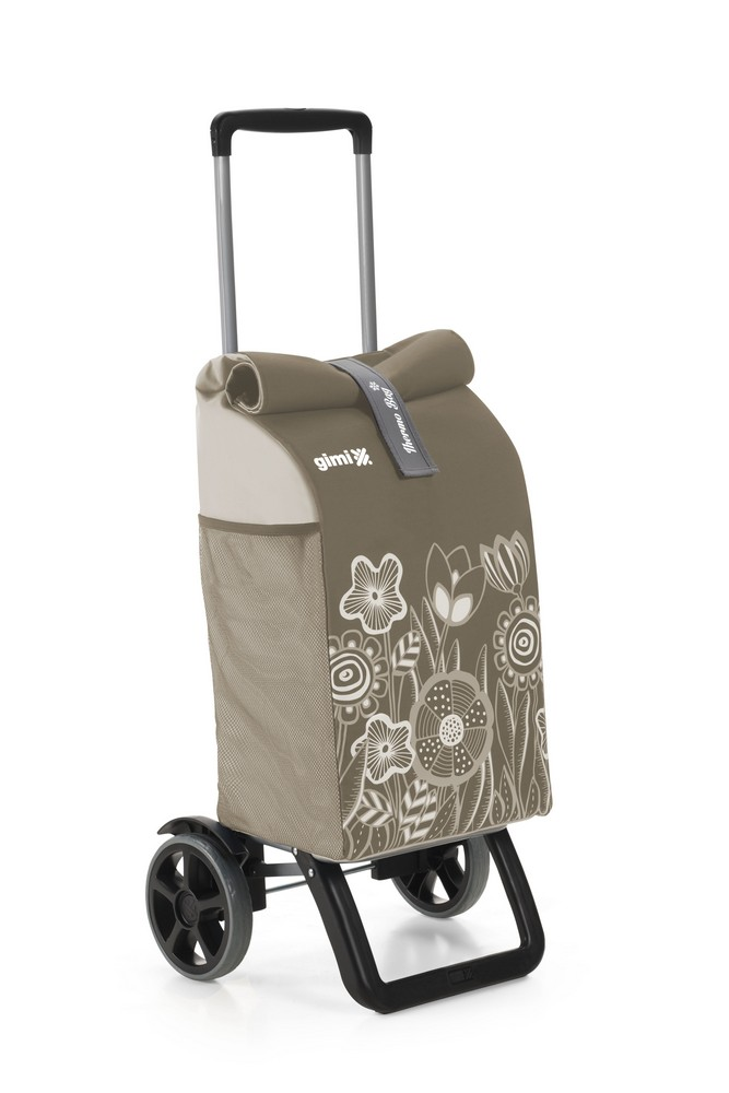 Nákupní vozík GIMI Rolling Thermo hnědý 50 l