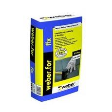 Lepicí tmel na bázi cementu pro dlažbu Weber for fix C2T WEBER balení 25 kg