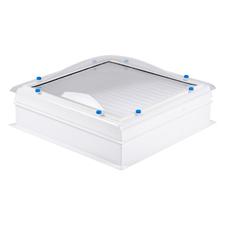 Kompletní sestava bodový polykarbonátový světlík DEKLIGHT ACG FIX M15K 100×100 cm