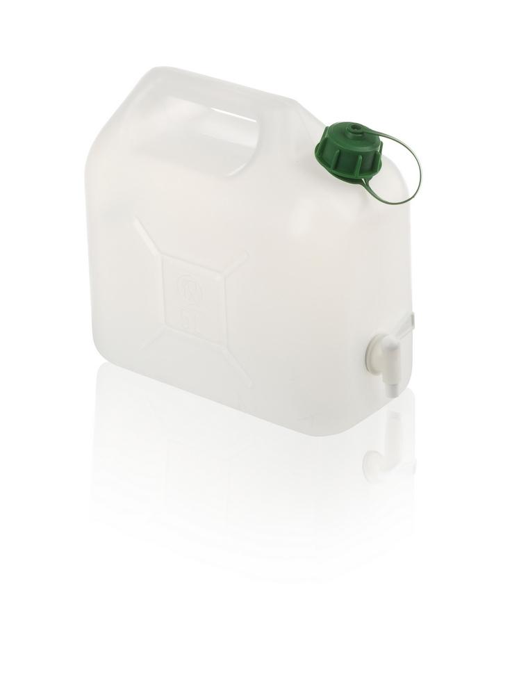 Plastový kanystr na vodu 5 l, s kohoutkem