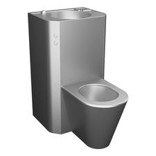 Set WC rovný Sanela SLWN 28P, WC na zemi, 24 V DC