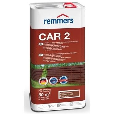 Lazura na dřevo Remmers CAR-2 naturbraun 5 l