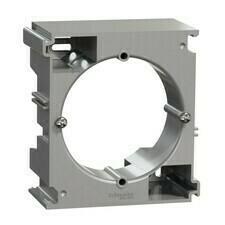 Krabice nástěnná vícenásobná Schneider Sedna Design aluminium