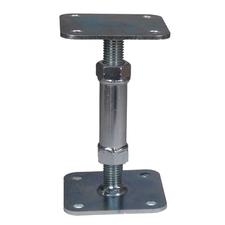 Patka pilíře stavitelná P/L M20 80/100×80/100×120–175×4 mm