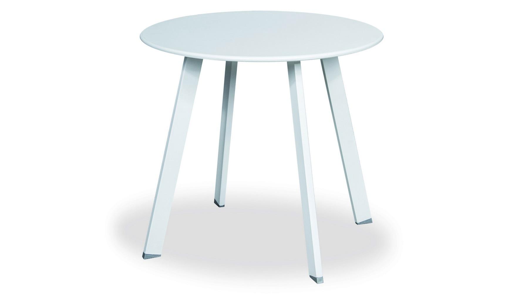 Nízký stoleček, bílý