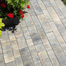 Dlažba betonová BEST OLYMPIA barva arabica, výška 80 mm