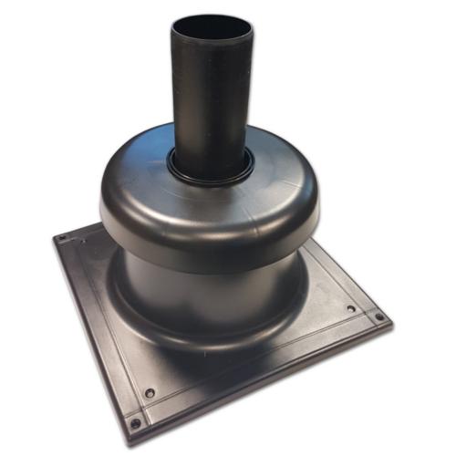kryt komína HDPE pro kondenzační kotle DN60