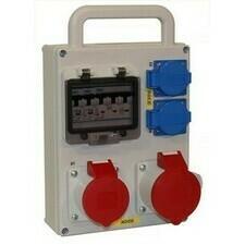 Kombinace zásuvková NG Energy Baseline 2× 230 V 2× 400 V