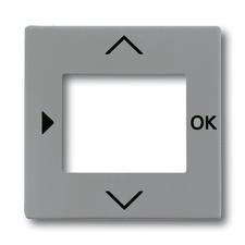 Kryt ovladače časovacího/termostatu Solo, metalická šedá
