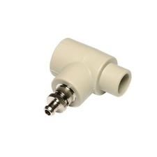 Nátrubek PP-R s výpustným ventilkem vnitřní/vnější D20