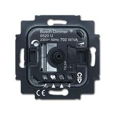 Přístroj stmívače 6520 U pro otočné ovládání a tlačítkové spínání, řazení 6