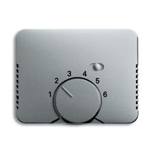 Kryt termostatu s otočným ovladačem Alpha titanová