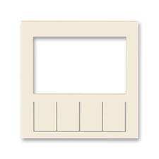 Díl výměnný pro kryt termostatu nebo hodin spínacích Levit slonová kost