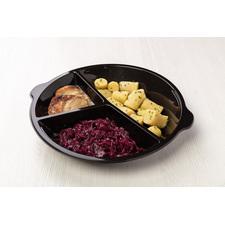 Chlazené - Kachna s červeným zelím, bramborové špalíčky