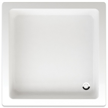 Vanička sprchová čtvercová Teiko LIBRA 900×900×150 mm akryl