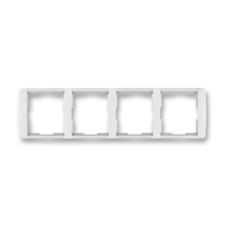 Rámeček čtyřnásobný vodorovný Element bílá / ledová bílá