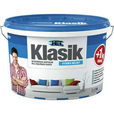 Malba interiérová HET Klasik bílá, 25 kg