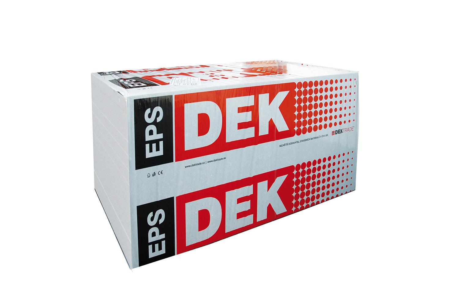 Fasádní polystyren DEK EPS 70F 220 mm (1000x500 mm)
