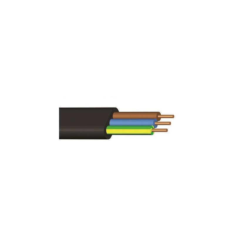 Kabel CYKYLo-J 3× 1,5 RE (metráž)