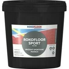 Povrch sportovní Rokofloor Sport šedý, 12 kg/bal.