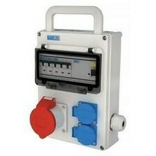 Kombinace zásuvková NG Energy Baseline 2× 230 V 1× 400 V
