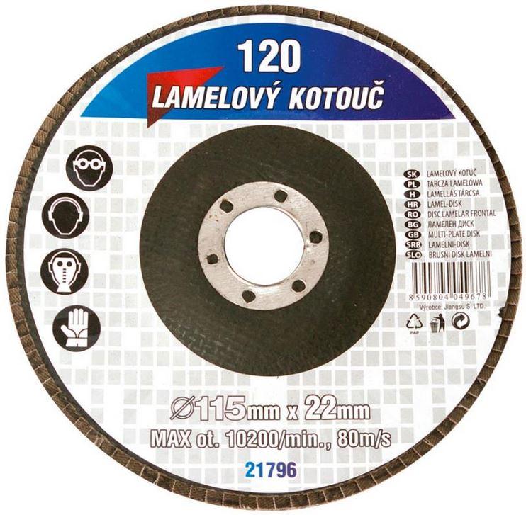 Lamelový kotouč brusný 115/z60