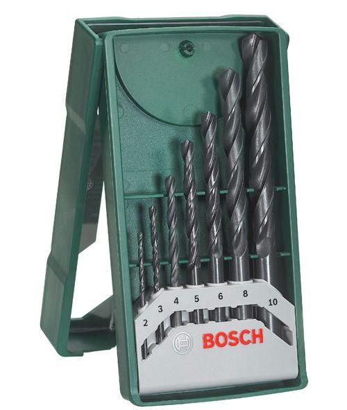 Minisada vrtáků do kovu Bosch X-Line (7 ks/sada)