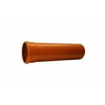 KGEM trubka s hrdlem pro kanalizaci DN 200, délka 500 mm