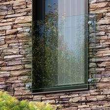 Zábradlí JAP ANDROMEDA okno š. 1000 mm sklo čiré