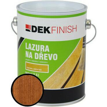 Lazura na dřevo DEKFINISH  teak 2,5 l