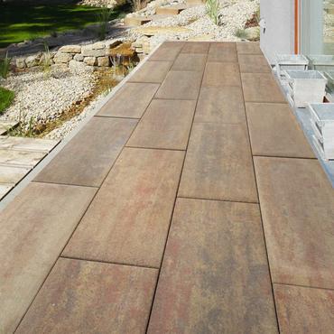 Dlažba betonová BEST BRILA standard podzim 300×600×80mm