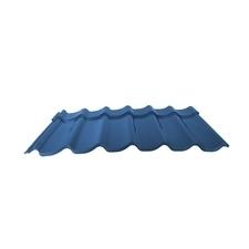 Velkoformátová profilovaná plechová střešní krytina MAXIDEK SP25 modrá