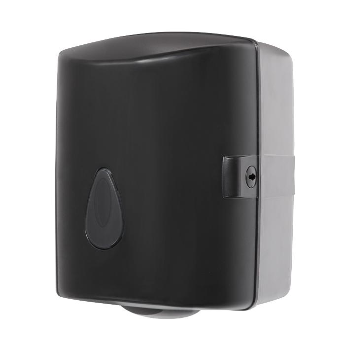 Zásobník na papírové ručníky Sanela SLDN 02N, černý