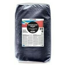 Povrch sportovní Rokofloor Sport podklad černý, 30 kg/bal.