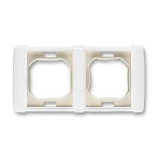 Rámeček dvojnásobný s manžetou Element bílá