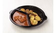 Chlazené - Kuřecí na víně, brambory ve slupce