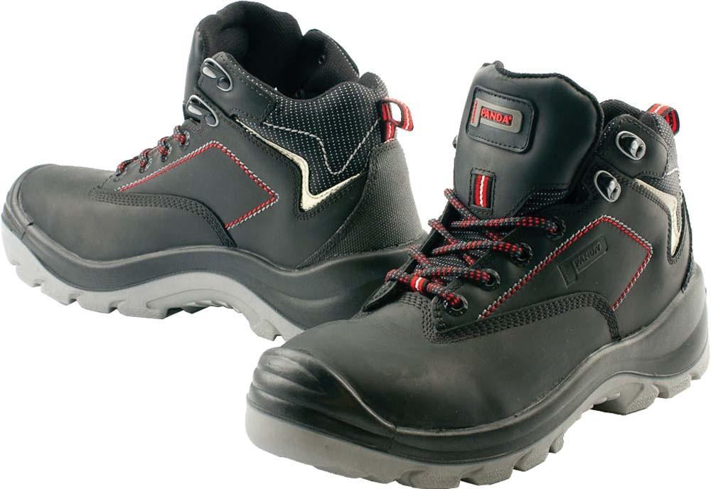 Kotníková obuv TOP CLASSIC TAURUS S3 SRC, černá/červená, vel. 46