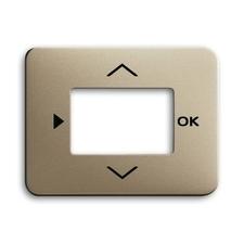 Kryt ovladače časovacího nebo termostatu Alpha palladium