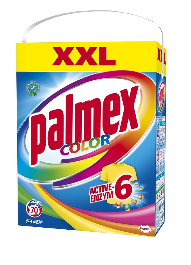 Prací prášek PALMEX Color box 70 praní, cena za ks