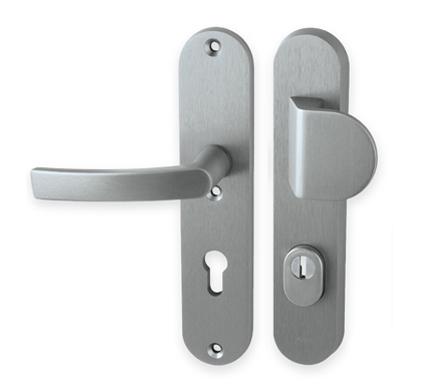 Kování dveřní MP AXA-BETA2 Plus hliník