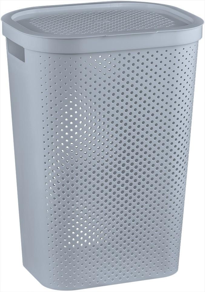 Koš na prádlo INFINITY 59 l šedý
